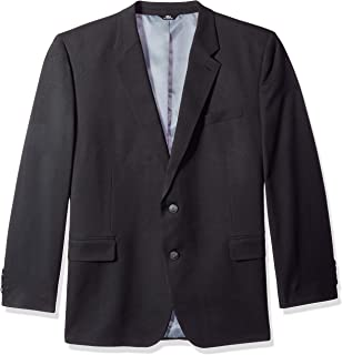 Haggar Men's Big and Tall B&t Heather Twill Stretch Classic Fit Suit Separate Coat