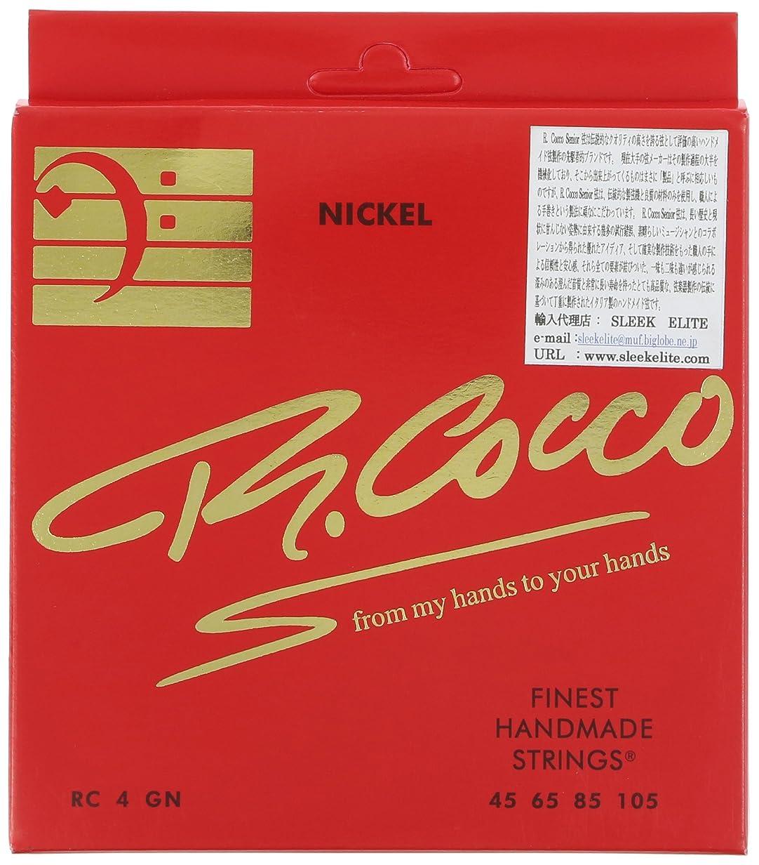 狂う白雪姫火傷R.Cocco リチャードココ ベース弦 RC4G N (ニッケル .045-.105)
