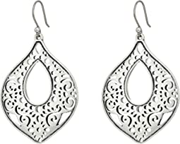 Lucky Brand - Openwork Teardrop Earrings
