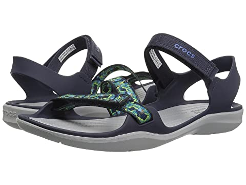 68e306d9aed3 Crocs Swiftwater Webbing Sandal at 6pm