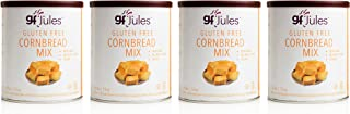 gfJules Gluten Free Cornbread Mix - Voted #1 by GF Consumers, 0.8 lb Bag, Pack of 4