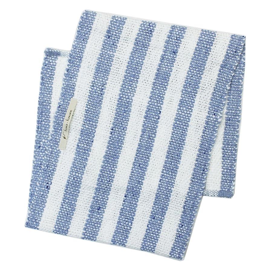 どこ英語の授業がありますパンアンドウ fuwafuwano ボディタオル Body Towel 青 8青