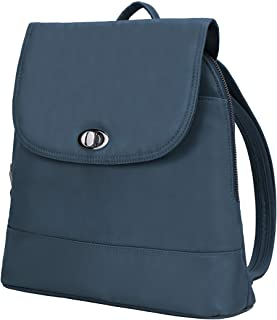 Travelon Women's Anti-Theft Tailored Backpack, Peacock, One Size