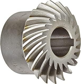 Boston Gear HLSK103YL Spiral Miter Gear, 35 Degree Spiral Angle, 1:1 Ratio, 0.750