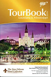 Louisiana & Mississippi Tour Book Guide 2018 - AAA Look up any town/city to find/compare nearly all hotels, restaurants, attractions with ratings, inspector notes, recommendations. 262 page TourBook (Paperback)