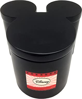 """Disney Mickey Mouse Classic """"Team Mickey"""" Shaped Resin Jar with Lid"""