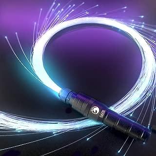 Electrik Unicorn Sparkle Whip - LED Fiber Optic Whip [ 6 Ft 360° Orbit ] Super Bright Light Up Rave Toy | EDM Pixel Flow Lace Dance Festival