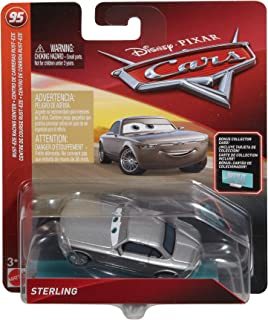 Disney Pixar Cars Die-cast Sterling with Accessory Card Vehicle