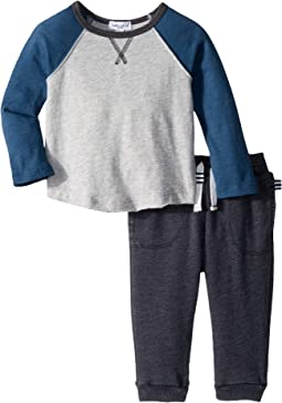 Long Sleeve Raglan Set (Infant)