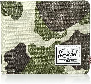 Herschel Roy RFID Bi-Fold Wallet, Frog Camo, One Size