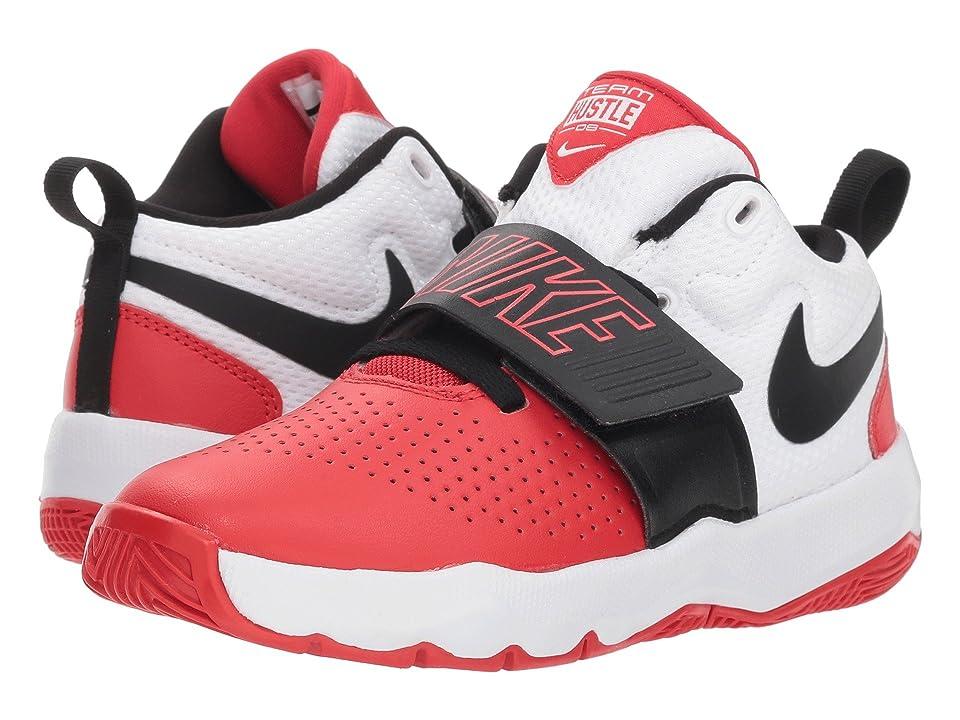 Little Kid Nike Team Hustle D 8 Black//White-University Red 12 M US Little Kid