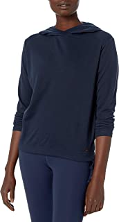 Helly Hansen Siren Soft Brushed Quick Dry Fabric Pullover Hooded Sweatshirt