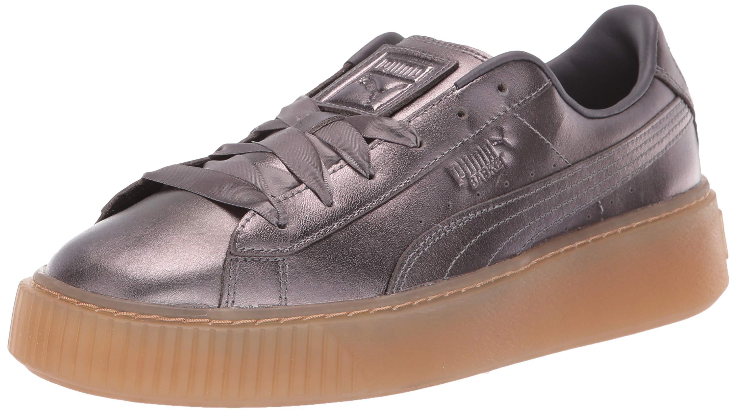 PUMA 女式篮球防水台 时尚运动鞋