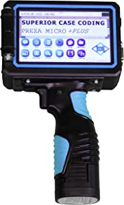 Micro + Plus SBK Portable Handheld Inkjet Printer, Handheld Inkjet Coder, Inkjet Coding Machine, Date Coding Machine, Handheld Date Coder USA