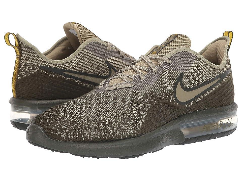 Nike Air Max Sequent 4 (Cargo Khaki/Neutral Olive/Peat Moss) Men