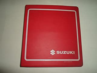 1990 Suzuki GS500E Motorcycle Service Repair Manual STAINED