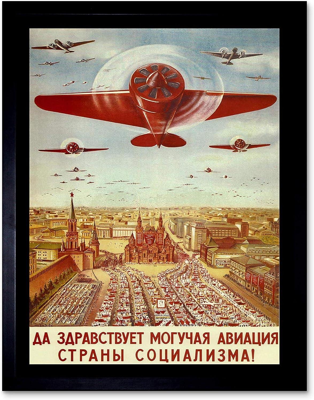 Wee Blue Coo Advert Soviet Sturgeon Caviar Nutrition USSR Fish Unframed Wall Art Print Poster Home Decor Premium