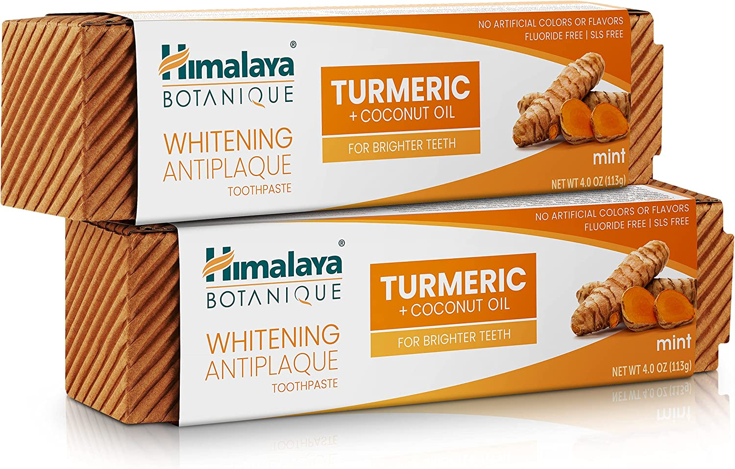 Himalaya Whitening Super-cheap Antiplaque Toothpaste Outlet ☆ Free Shipping + Turmeric Coconut with