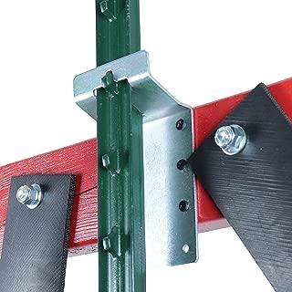 t post target hanger with spring bolt