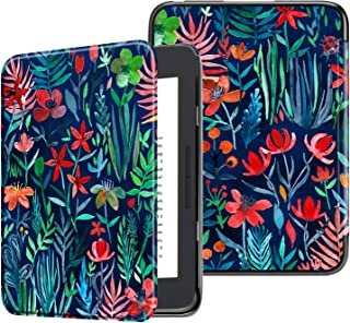 Fintie Case for All-New Nook Glowlight Plus 7.8 Inch 2019 Release, Ultra Lightweight Slim Shell Cover for Barnes & Noble Glowlight Plus 7.8 eReader (Not Fit Previous Gen 6 Inch 2015), Jungle Night