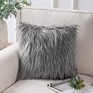 gray accent pillows