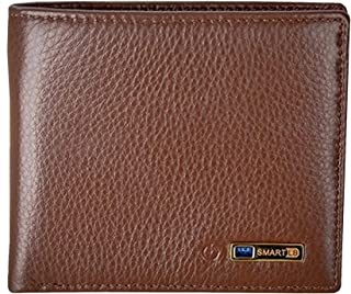 Genuine leather Bluetooth anti-theft smart wallet