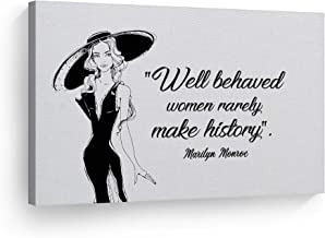 Best marilyn monroe quotes well behaved Reviews