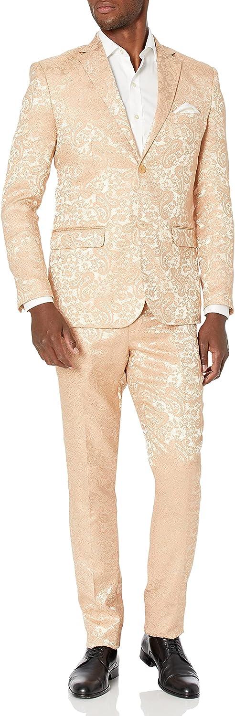 Blu Martini 2 Pc. Paisley Men's Suit