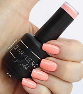 Sparkle & Co. Soak Off Gel Color 070 Neon Cream Peach