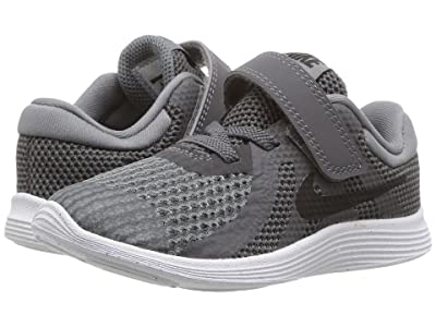 Nike Kids Revolution 4 (Infant/Toddler) (Dark Grey/Black/Cool Grey/White) Boys Shoes