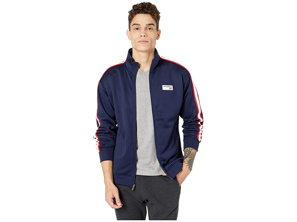 New Balance Athletics Track Jacket (Pigment) Men