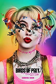 hotprint Birds of Prey and The Fantabulous Emancipation of One Harley Quinn - Movie Poster Wall Decor - 18 by 28 inches. (NOT A DVD)