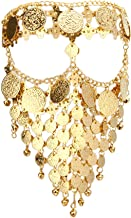 Astage Lady Cosplay Belly Dance Jewelry Coin Veil Halloween Dance Play Accessories