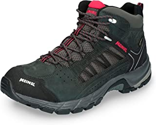 Meindl Mens Journey Mid GTX Anthracite/red