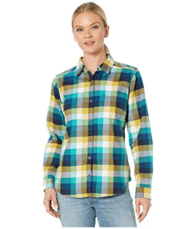Royal Robbins Lieback Flannel Long Sleeve (Harbor) Women