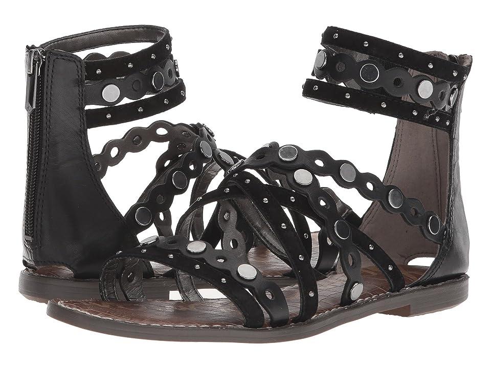 Sam Edelman Geren (Black Modena Calf Leather/Kid Suede Leather) Women
