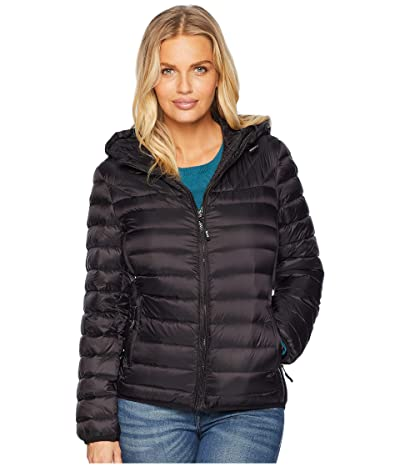 Tumi Estes TUMIPAX Hooded Jacket (Black) Women