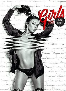 Hot Girl Calendar - Calendars 2019 - 2020 Wall Calendar - Sexy Woman Calendar - Girls in Black and White Poster Calendar by Presco Group