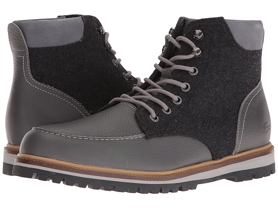 Lacoste Montbard Boot 316 2 (Dark Grey) Men