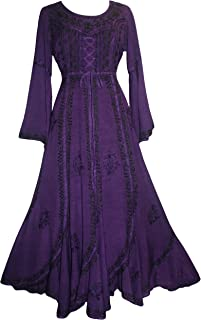 purple renaissance gown