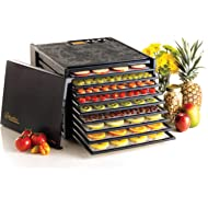 Excalibur 3926TB 9-Tray Electric... Excalibur 3926TB 9-Tray Electric Food Dehydrator with Temperature Settings and 26-hour Timer...