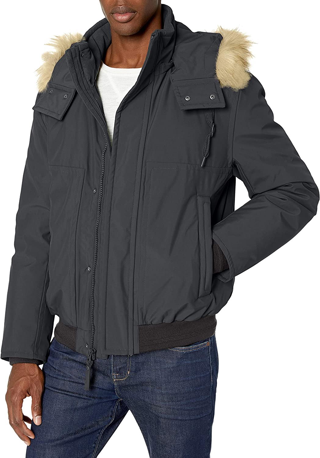 Manufacturer OFFicial shop Marc New York by Andrew Lowell mens Insulated Ultra-Cheap Deals Jacket Bomber
