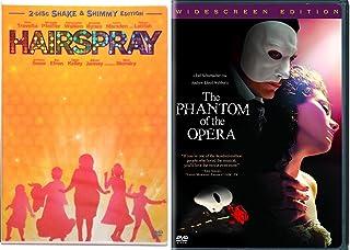 Phantom of the Opera & Hairspray Musical DVD Set Special Edition 2 Disc & Bonus Videos Shimmy Shake