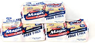 Magic Flakes Premium Crackers Original 10.86oz (308g), 3 Pack