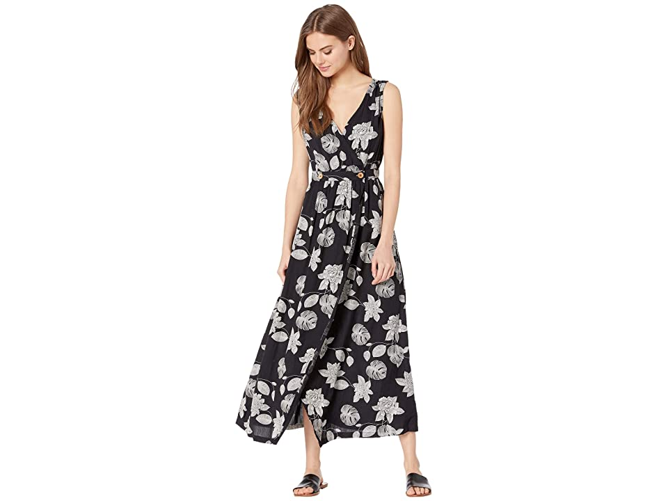 Roxy In the Mood for Dance Woven Dress (Anthracite Flower of Love) Women