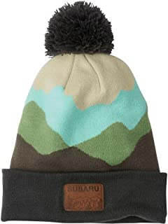 Genuine Subaru Knit Mountain Beanie Cap Hat WRX Sti Impreza Forester Outback New Green