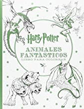 HARRY POTTER-ANIMALES FANTÁSTICOS LIBRO PARA COLOREAR (HARRY POTTER LIBROS PARA COLOREAR)