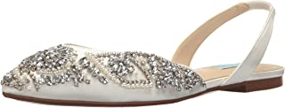 bridal flat shoes ivory