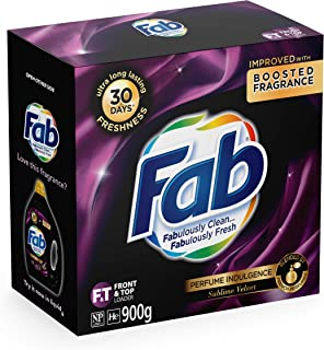 Fab Laundry Powder Sublime Velvet, 900g