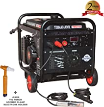 TOMAHAWK 15 HP Engine Driven Portable 2,000 Watt Generator with 210 Amp Stick and TIG Welder with Kit
